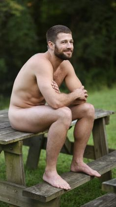 All natural nude male