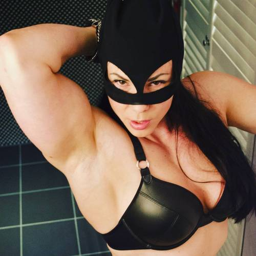 Girls with muscle cosplay