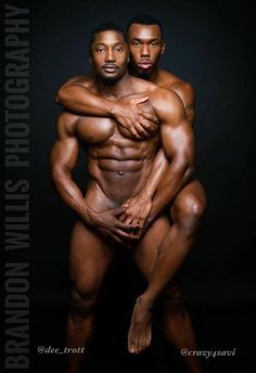 Male muscle worship